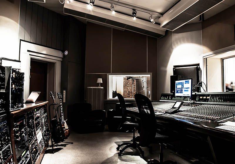 Kontrollrum, Studio A